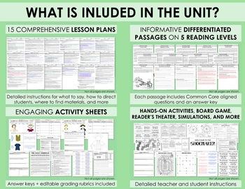 American Colonies UNIT (without passages) - Part 2