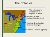 American Colonies and Democracy  PowerPoint - distance learning