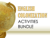 English Colonization Activities Bundle