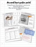American Colonization Document Based Question Packet