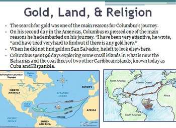 American Colonization Unit PowerPoint