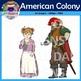 American Colony Clip Art (Jamestown, John Smith, England,