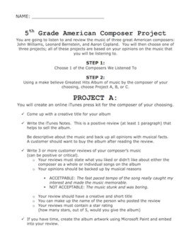 American Composer Project