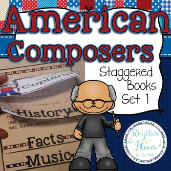 American Composers Staggered Books Set 1