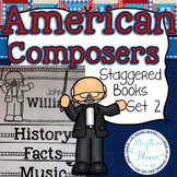 American Composers Staggered Books Set 2