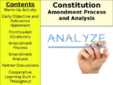 American Constitution Day 4 - Amendments and the Process