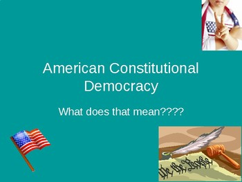 American Constitutional Democracy