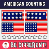 American Counting Clipart