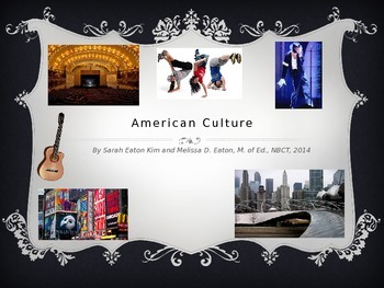American Culture PowerPoint