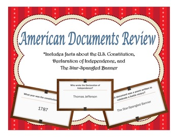 American Documents PowerPoint Review