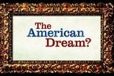 """'""""American Dream"""" Course Overview, Common-Core Aligned"""