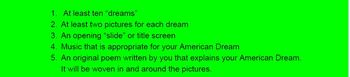 American Dream Digital Story