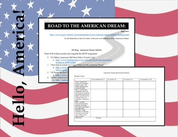 American Dream Introduction