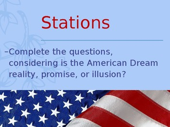 American Dream: Promise, Reality, or Illusion?