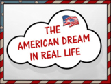 American Dream in Real Life - A Beginning and End of Year