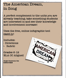 American Dream, in Song Analysis Project