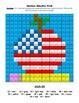 American Education Week Multiplication Color by Number