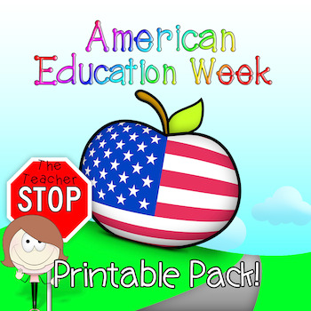 American Education Week Printable Pack {The Teacher Stop}