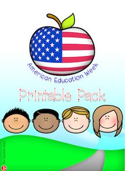 American Education Week Printable Pack {The Teacher Stop}