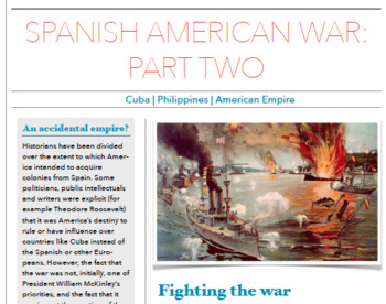 American Empire 1898-1914