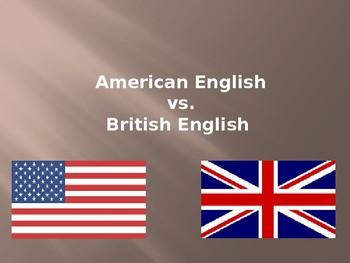 American English v British English