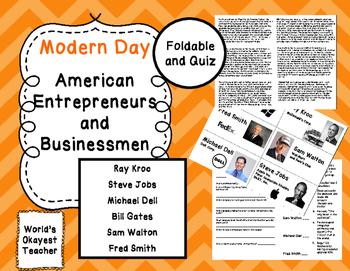 American Entrepreneurs: Kroc, Jobs, Walton, Gates, Smith,