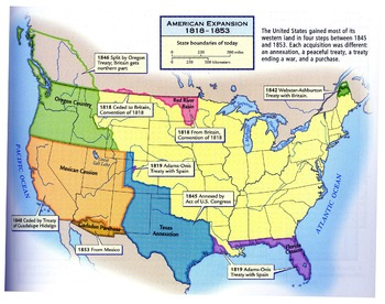 American Expansion 1818-1853