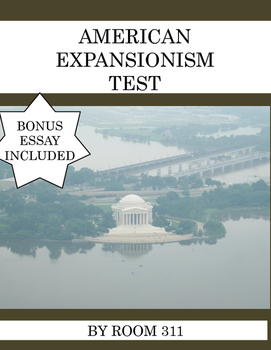 American Expansionism Test