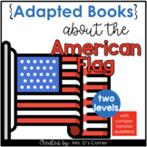 American Flag Adapted Books [ Level 1 and Level 2 ] | Amer