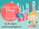 American Flag Art Project-Flag Day, Memorial Day, July 4th