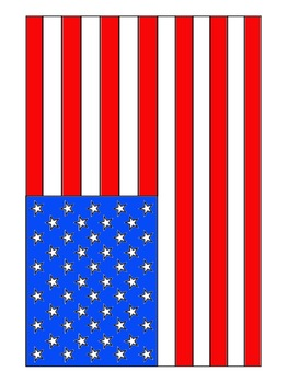 american flag clipart coloring pages commercial use okay by rh teacherspayteachers com American Flag Border Clip Art American Flag Border Clip Art