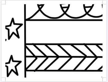 4th of July Activity- American Flag Collaboration Coloring Poster