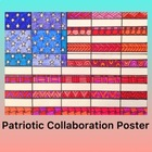 Patriot Day- American Flag Collaboration Coloring Poster