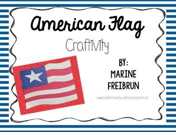 American Flag Craftivity {FREEBIE}