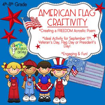 Patriotic {Craftivity}-Acrostic Poem-September 11th, Veter