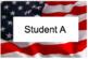 American Flag Editable Labels