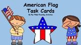 American Flag Informational Task Cards