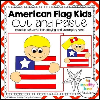 American Flag Kids Craftivity