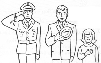 American Flag Lesson w/ 12 Multiple Choice Qs: Reading Social Studies Patriotism