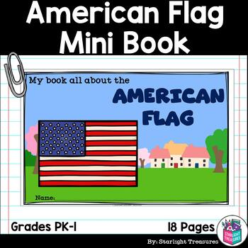 American Flag Mini Book for Early Readers: American Symbols