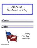 American Flag - Handwriting Packet MODERN MANUSCRIPT