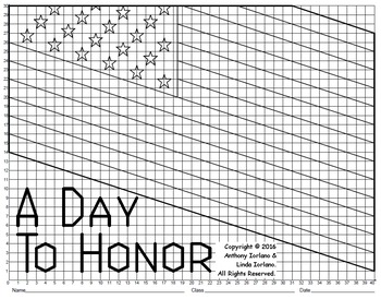 American Flag Mystery Picture (Memorial Day)
