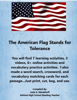 American Flag Stands for Tolerance