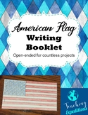 American Flag Writing Booklet