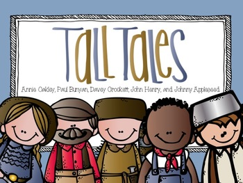 American Folk Heroes and Tall Tales