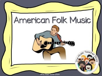 American Folk Music / American Folk Songs PowerPoint Presentation