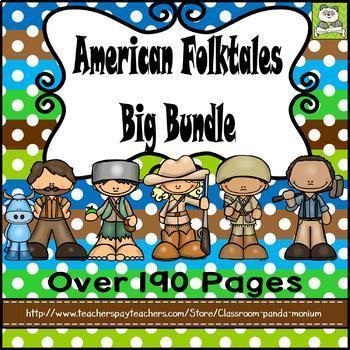 American Folktales BIG Bundle