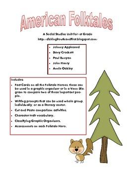 American Folktales Unit - Folk Heroes