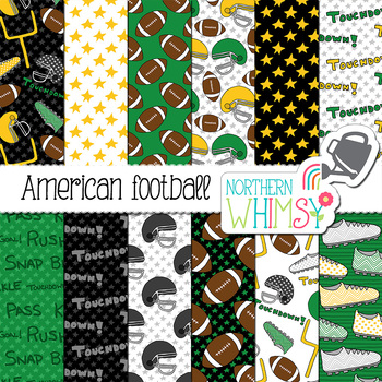 American Football Digital Paper