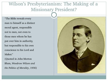 American Foreign Policy in the Roosevelt and Wilsonian Traditions Power Point